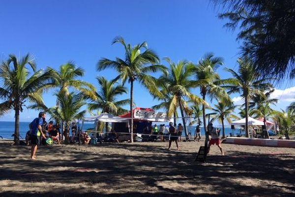 Beach tennis championnat de La Réunion 2018