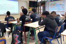 Ces lycéens de Petro-Attiti participent au concours Iles lettrées.
