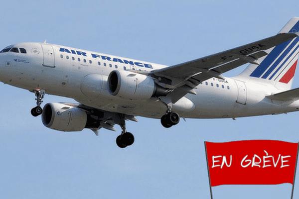 Grève d'Air France à Tahiti - 13/11/2017