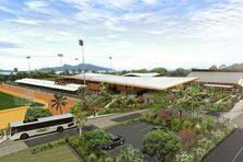 Le centre sportif de Miréréni pourra accueillir de nombreuses disciplines.