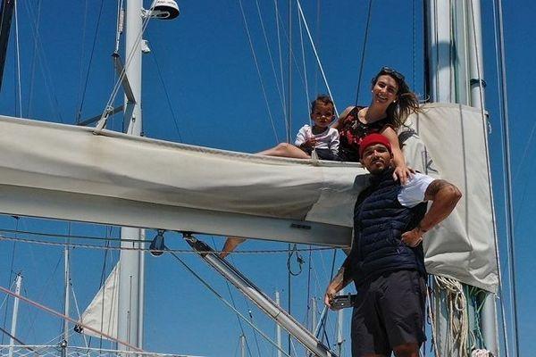 Tour du monde : le Réunionnais Marvin Nauche et sa famille font escale à Brest