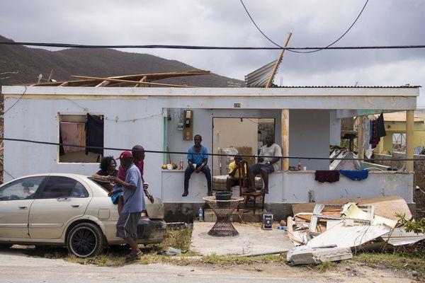 Saint-Martin au lendemain du passage d'Irma