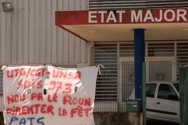 grève des pompiers en Guyane