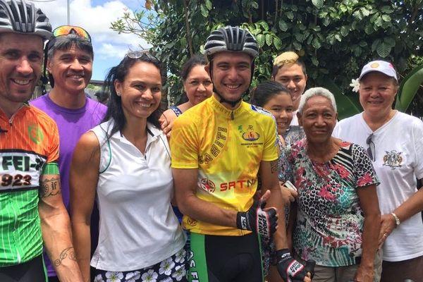 Taruia Krainer remporte la troiqième étape du Tour Tahiti Nui