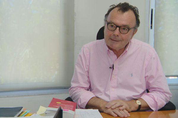 Yves Dupas, procureur de la République, avril 2020