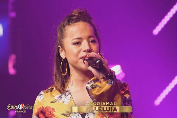 Cécile Saget Réunionnaise candidate à l'Eurovision 070121