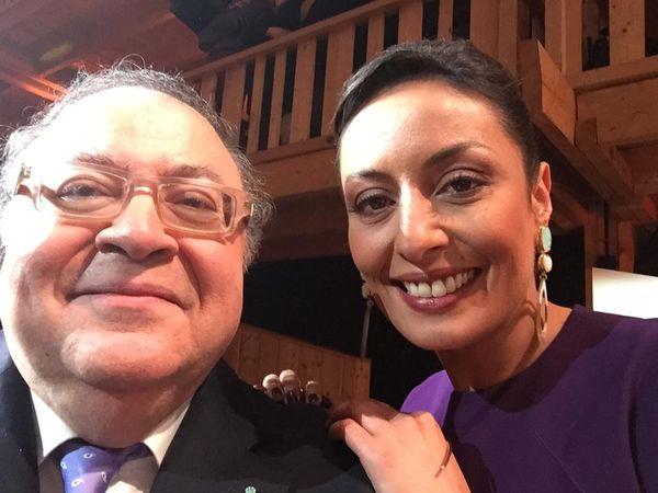Frédéric Lodéon et Leïla Kaddour-Boudadi