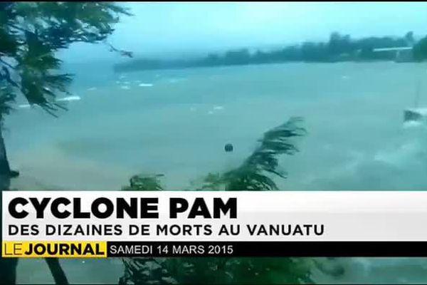 PAM : cyclone mortel au Vanuatu