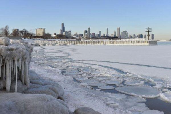 La vague de froid continue de geler le Nord-Est des Etats-Unis