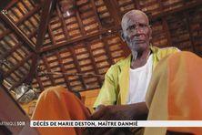 """Marie Deston dit """"Lamota"""" s'est éteint dimanche 26 septembre 2021 à l'âge de 91 ans."""