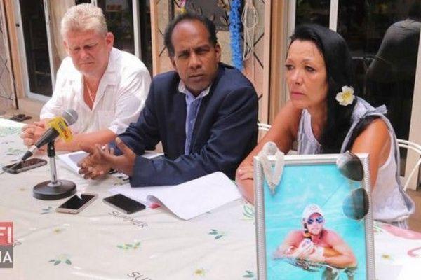 Conférence de presse des parents de Yoan Spanu
