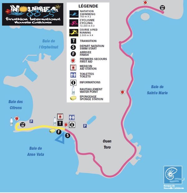 Triathlon international BNC : 34e édition