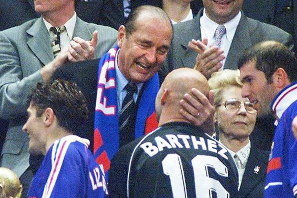 Chirac Coupe du monde