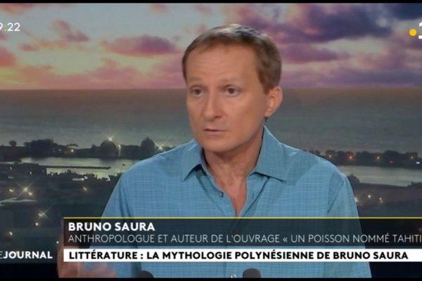 Invité du journal : Bruno Saura, anthropologue et auteur de « Un poisson nommé Tahiti »