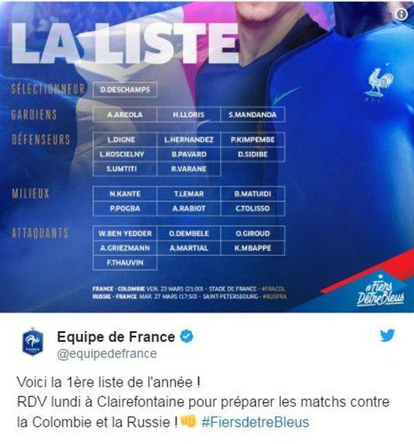 Equipe de France foot