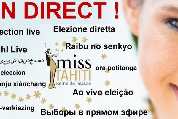 Comment regarder l'élection de Miss Tahiti 2014 dans le monde ?