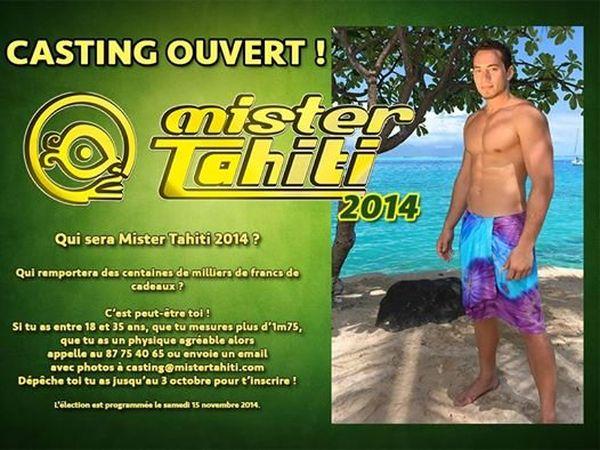 Affiche Mister Tahiti