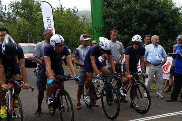 L'équipe de La Réunion