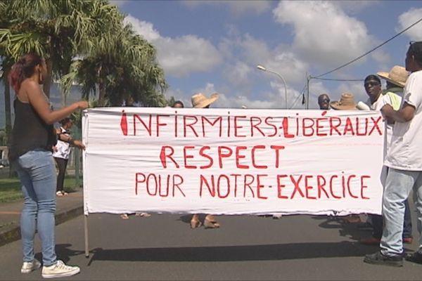 Manifestation des infirmiers