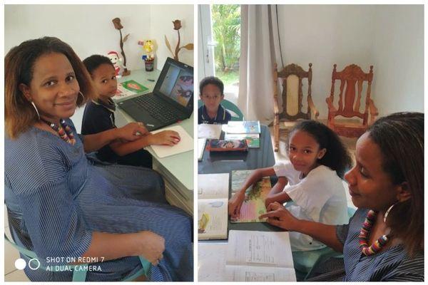 Coronavirus : école à la maison