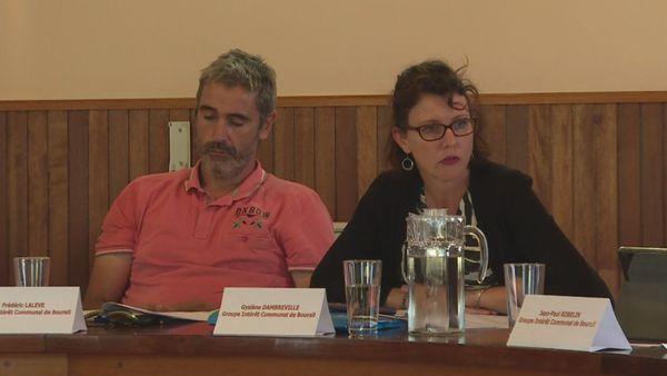 Conseil municipal de Bourail, éviction d'adjoints, novembre 2019, Frédéric Lalève et Gyslène Dambreville.