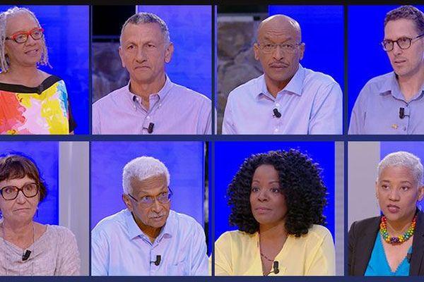 Candidats martiniquais aux élections européennes