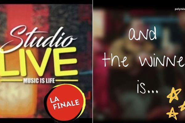 Studio Live : qui a remporté la finale ?