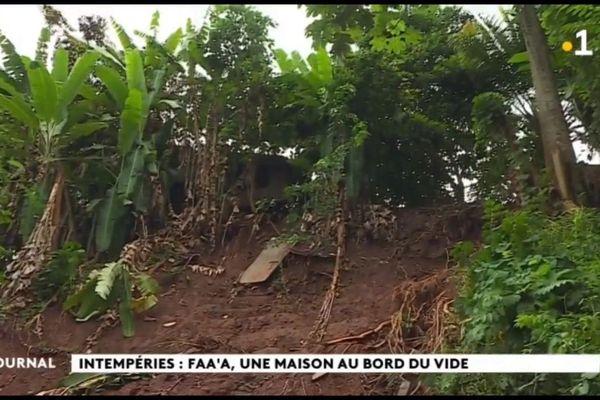 Glissement de terrain à Faa'a, les sinistrés témoignent