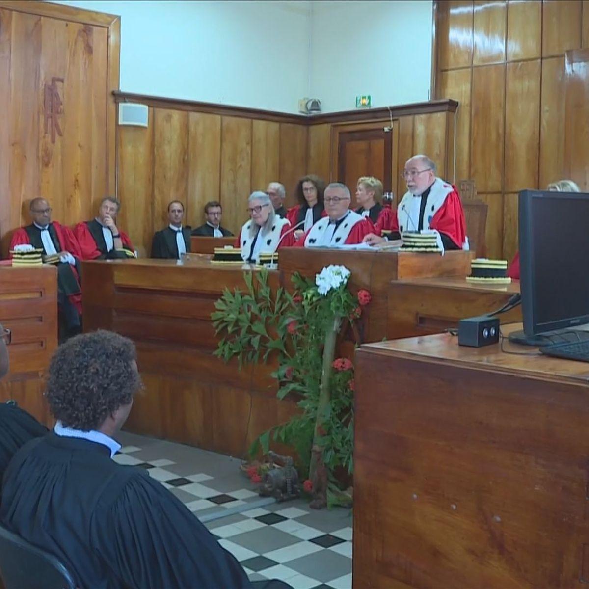 Ce lundi était jour de rentrée solennelle à la Cour d'Appel de Basse-Terre.