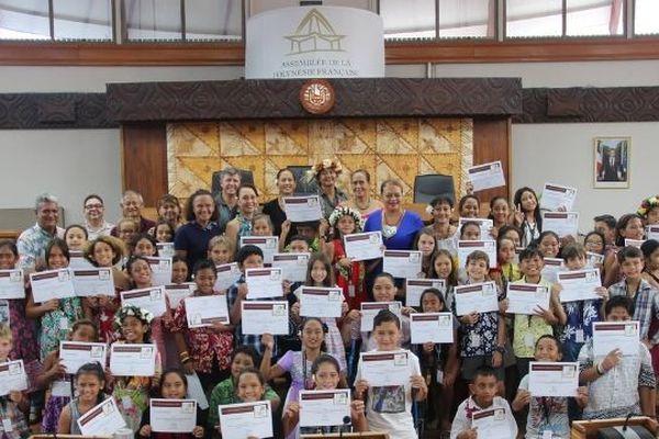 L'Assemblée des représentants Juniors de Polynésie française