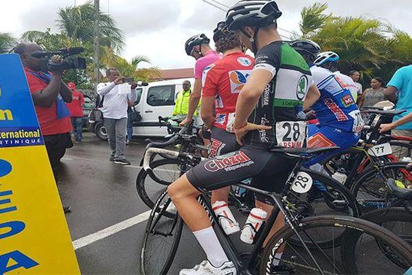 Tour cycliste de Martinique départ étape