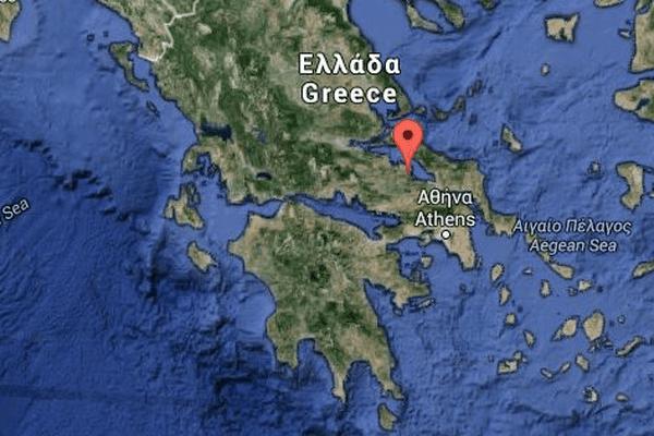 Grèce / Larymna, une petite ville côtière entre Athènes et Thessalonique