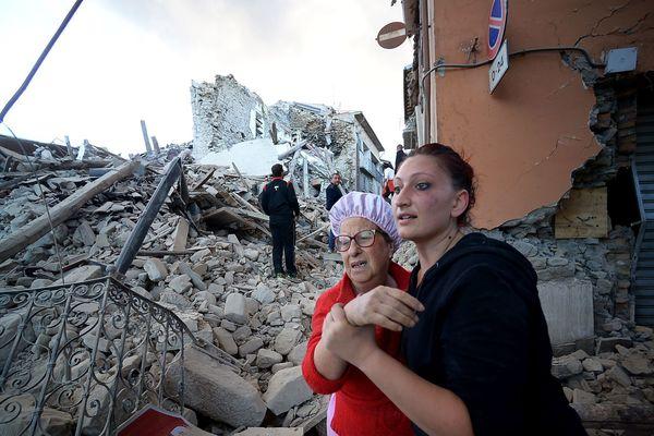 Un puissant séisme de magnitude 6,2 a bouleversé l'Italie mardi 24 aout 2016