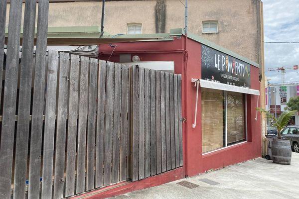 Restaurant le Pimiento au Quartier-Latin, octobre 2020