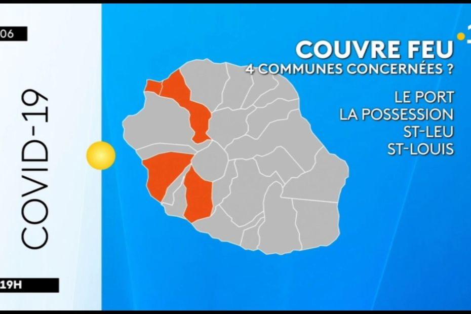 Coronavirus : 4 communes de l'île bientôt sous le coup d'un couvre-feu ? - Réunion la 1ère - Outre-mer la 1ère