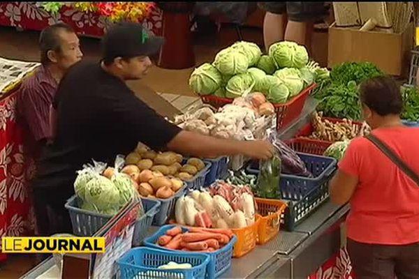 Fruits et légumes : l'atout cœur du marché de Papeete