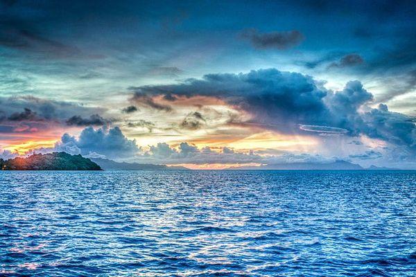 D' importantes quantités de gaz carbonique s'échappent de l'océan Pacifique