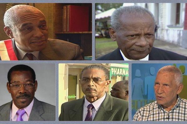 Parlementaires Martiniquais