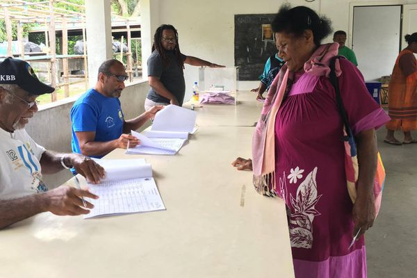 Elections municipales à Hienghène, premier tour, bureau de Ouaré, bis (19 novembre 2017)