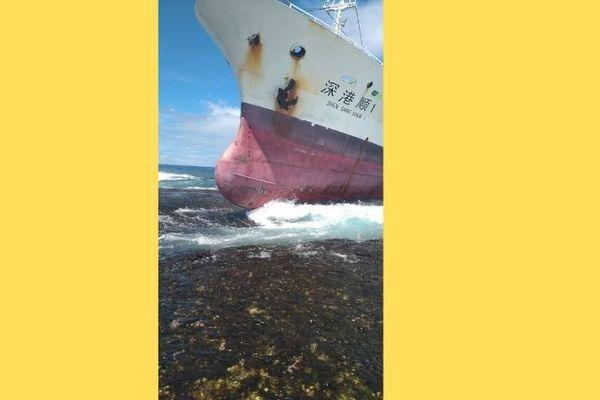 arutua navire échoué