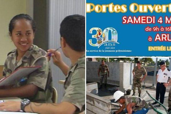Journée Portes Ouvertes du RSMA-Pf le 4 mai 2019