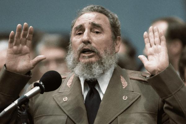 Fidel Castro / 1989
