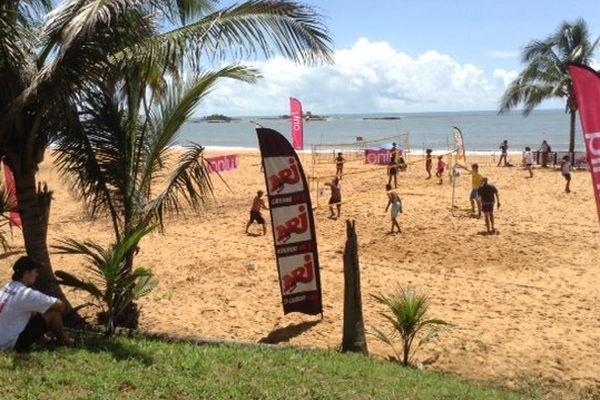 La plage de Montabo