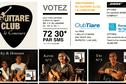Guitare Club, le concours - Programme des soirées du 27 et 28 février