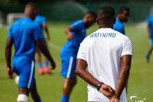 Matinino à l'entraînement durant la Gold Cup.