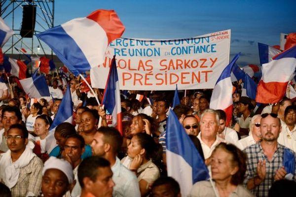Meeting Sarkozy la Réunion