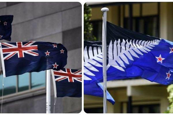 Entre l'ancien et le nouveau drapeau, le coeur des Néo-Zélandais balance