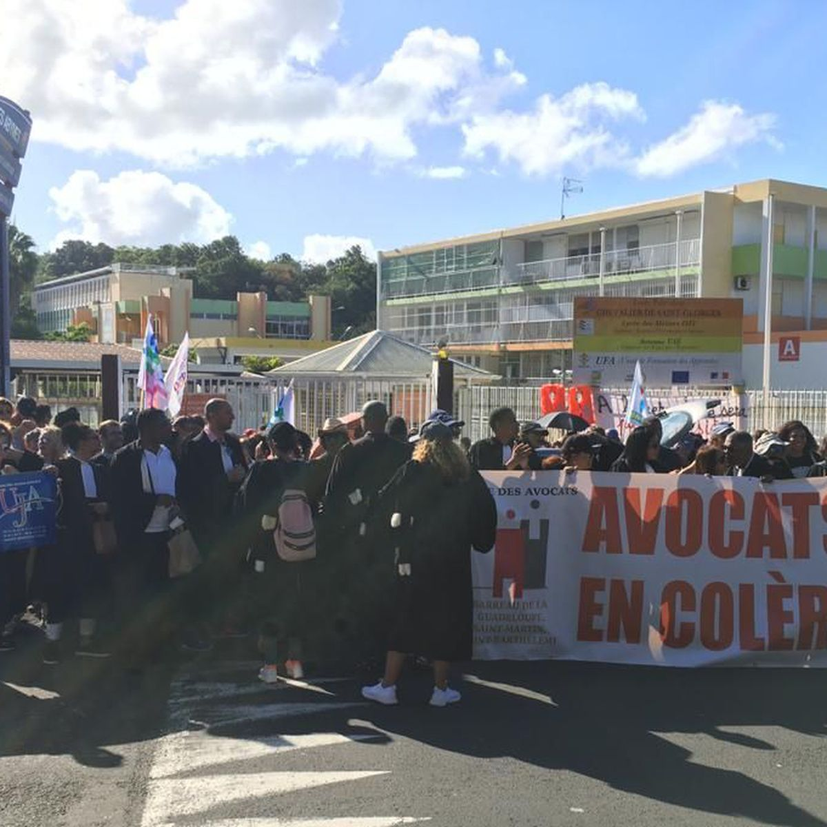 Les principales organisations syndicales de la Guadeloupe main dans la main pour la défense des conditions de travail, de l'emploi et des droits des travailleurs
