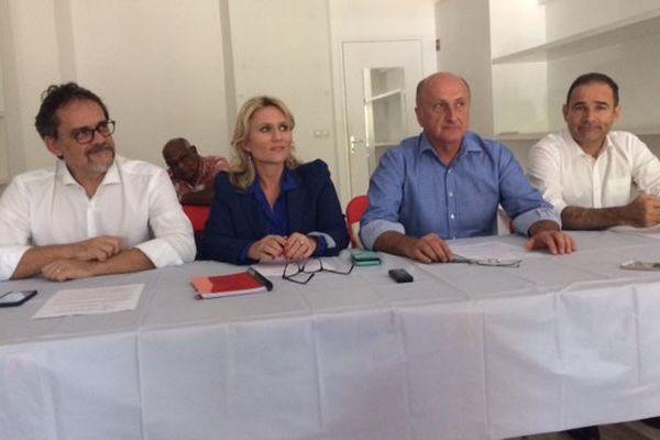 Conférence de presse plate-forme loyaliste sur le collectif d'aide aux électeurs (11 septembre 2017)