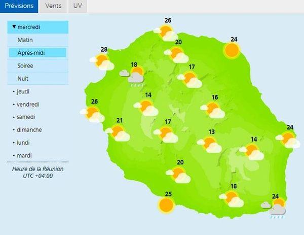 Carte météo 29 mai 2020
